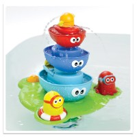 Stack n Spray Tub Fountain Bath Toy