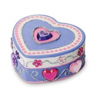 Decorate Your Own Wooden Heart Box Craft