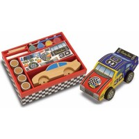 Decorate Your Own Wooden Race Car