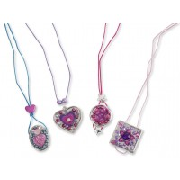 Design Your Own Pendants Necklace Making Craft