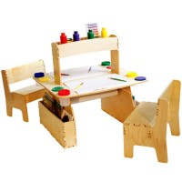 Anatex Double All in One Art Table for Kids