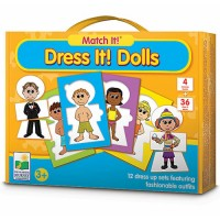 Dress It! Dolls Dress Up Puzzle Game