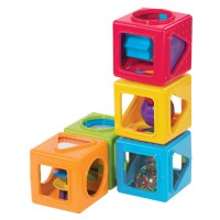 Baby Stacking Activity Cubes
