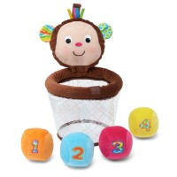 Monkey Basketball Baby Play Set