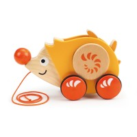 Walk-a-Long Hedgehog Toddler Pull Toy