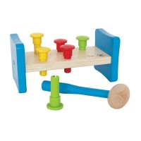 First Pounder Wooden Hammer & Pegs Toy