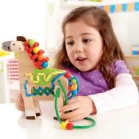 Lacing Pony Manipulative Activity Toy