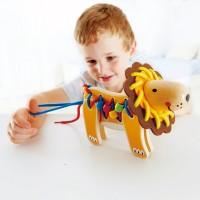 Lacing Lion Manipulative Activity Toy