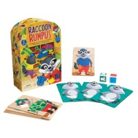 Raccoon Rumpus Matching & Memory Game