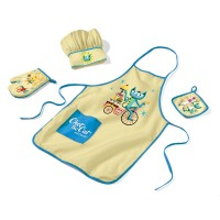 Chet the Cat Kids 4 pc Chef Set