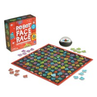 Robot Face Race Preschool Board Game