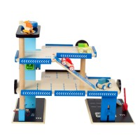 City Parking Garage Deluxe Wooden Play Center