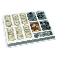 Realistic Play Money Deluxe Set