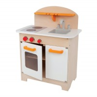 Kids Gourmet Play Kitchen - White
