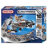 Erector 10 Model 190 pc Construction Set