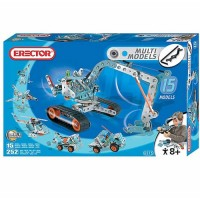 Erector 15 Model 252 pc Construction Set