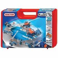 Erector 20 Model Case 260 pc Building Set