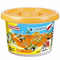 Erector Build & Play 150 pc Bucket Building Set