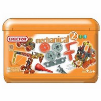 Erector Build & Play Mechanical Bucket Building Set