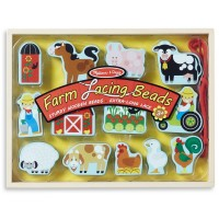 Farm Lacing Beads 14 pc Set