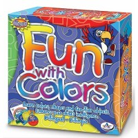 Fun with Colors Learning Game, DVD and Activity Book