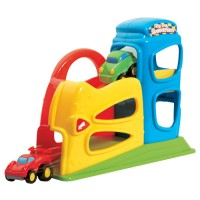 Toy Car Ramp Playset - Zig Zag Speedsters