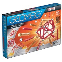Geomag Kids Color 64 pcs Magnetic Building Set