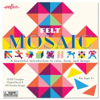 Felt Mosaic Kids Craft Set