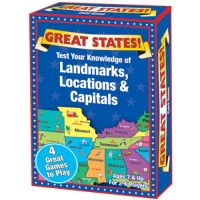 Great States US Geography Card Game