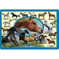 Horse Breeds 24 pc Jumbo Floor Puzzle