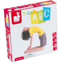 Yogame ABC Show Letters Yoga Game