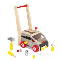 Redmaster Workbench & Trolley - Play Tools Push Cart