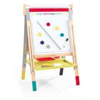 Kids Double-Sided Adjustable Floor Easel