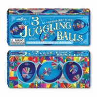 Juggling Balls 3 pc Velvet Set - Blue