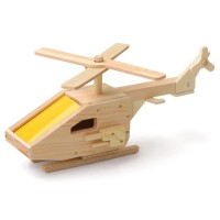 Build a Helicopter Kids Woodcrafting Kit
