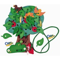 Lacing Tree Lacing Activity Toy