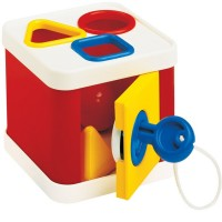 Lock a Block Shape Sorting Toy