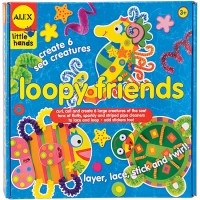 Loopy Friends Sea Animals Craft Kit