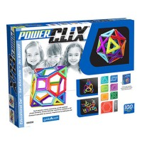 Power Clix 3D Magnetic 100 pc Building Kit