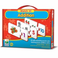 Match It! Addition Learning Puzzle
