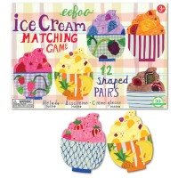 Ice Cream Shaped Pairs Matching Game