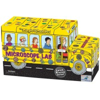The Magic School Bus Shaped Science Kit - Microscope Lab