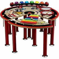 Anatex Musical Slices of Fun Activity Table