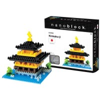 Nanoblock Building Set - Kinkaku-Ji Japanese Temple