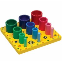 Nesting Sort & Stack Cylinders Learning Toy