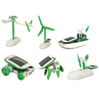 Solar Science Mini Kit - 6 in 1 Model Building Set