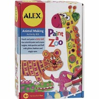 Paint a Zoo Kids Animal Painting Set
