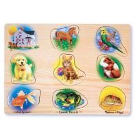 Pets Sound Wooden Puzzle
