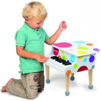 Grand Piano Confetti Toy Musical Instrument