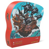 Pirates 36 pc Jigsaw Puzzle in Shaped Gift Box